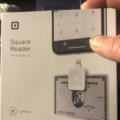 Now officially accepting square payments