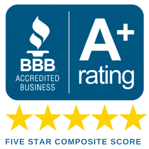 BBB 5 Star - A+ rating