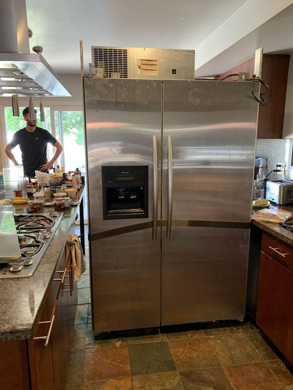 48 Inch refrigerator installation