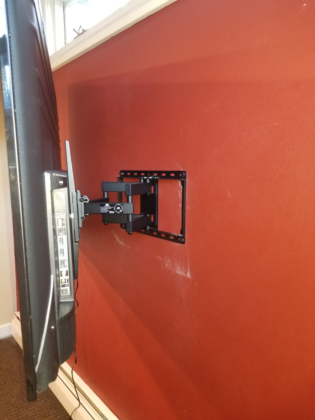 Installing wall mount