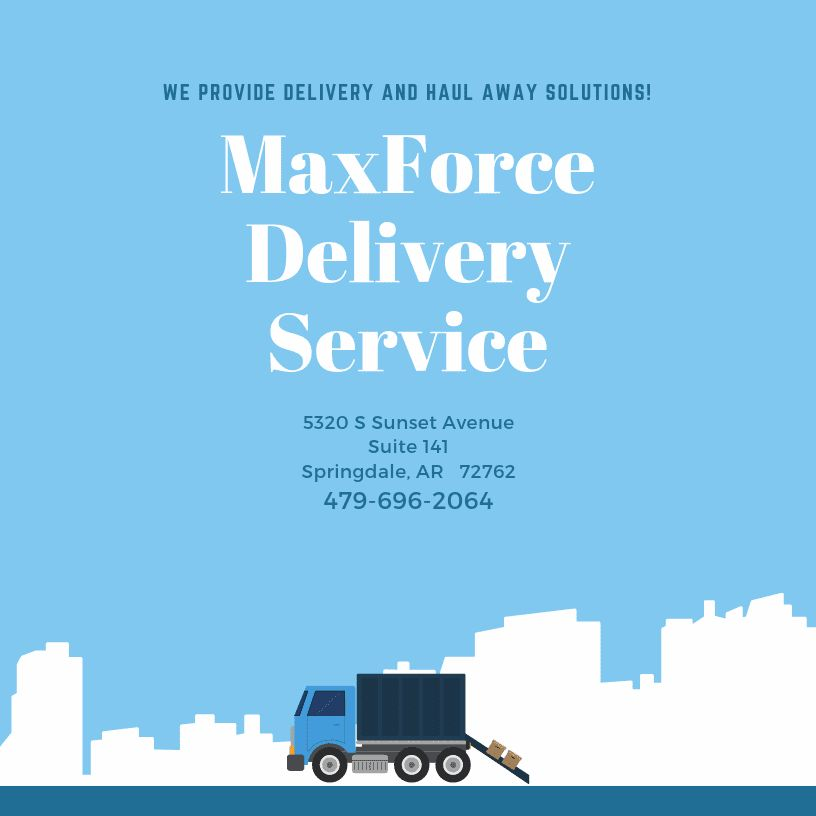 MaxForce Delivery Service