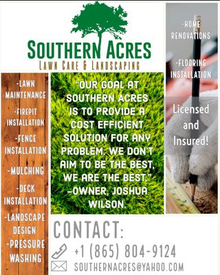 Avatar for Southern Acres Lawncare and Landscaping