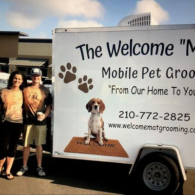 "Avatar for The Welcome ""Mat"" Mobile Pet Grooming Helotes, TX Thumbtack"