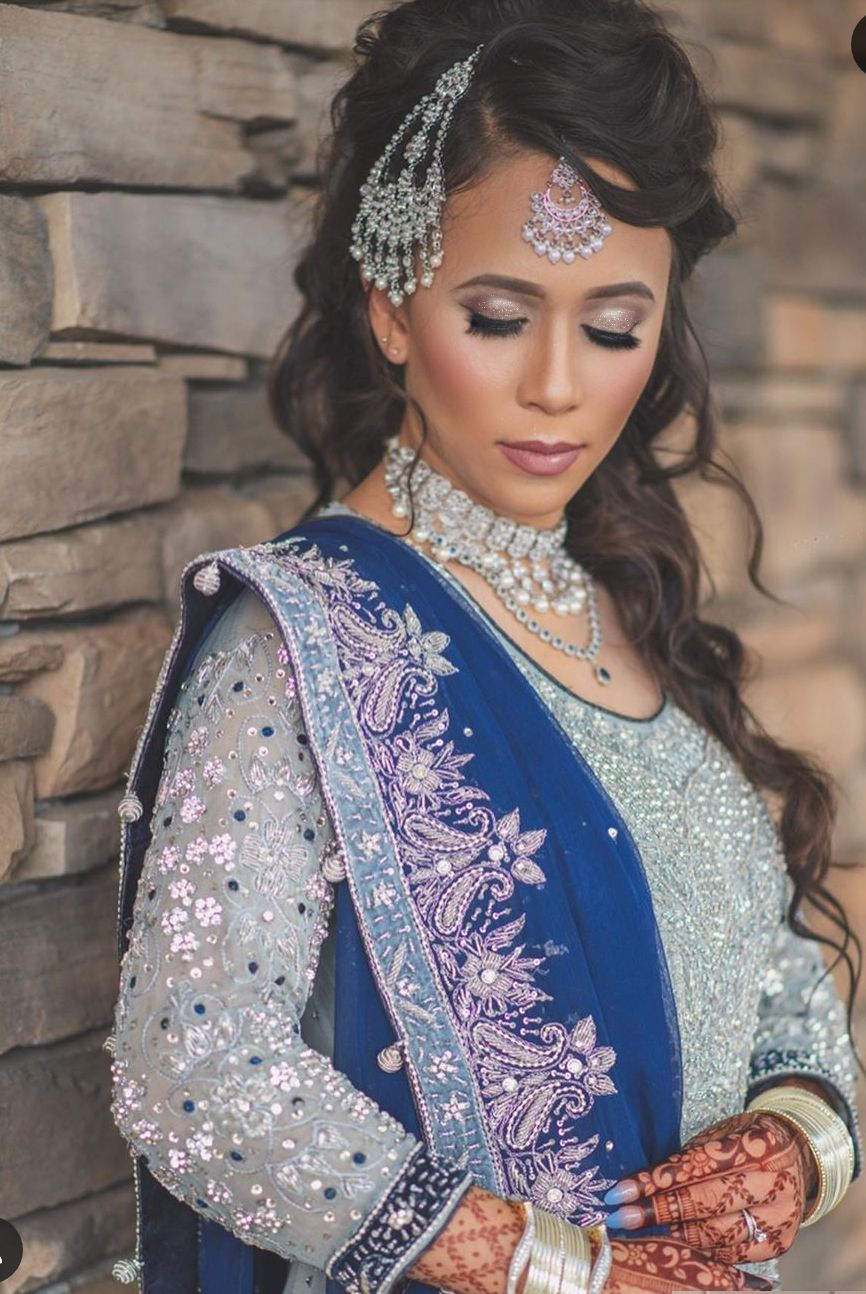 Haute Couture III South Asian Bridal Bridal hair and Makeup