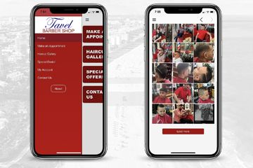 Tavel Barber Shop App (Android & iOS)