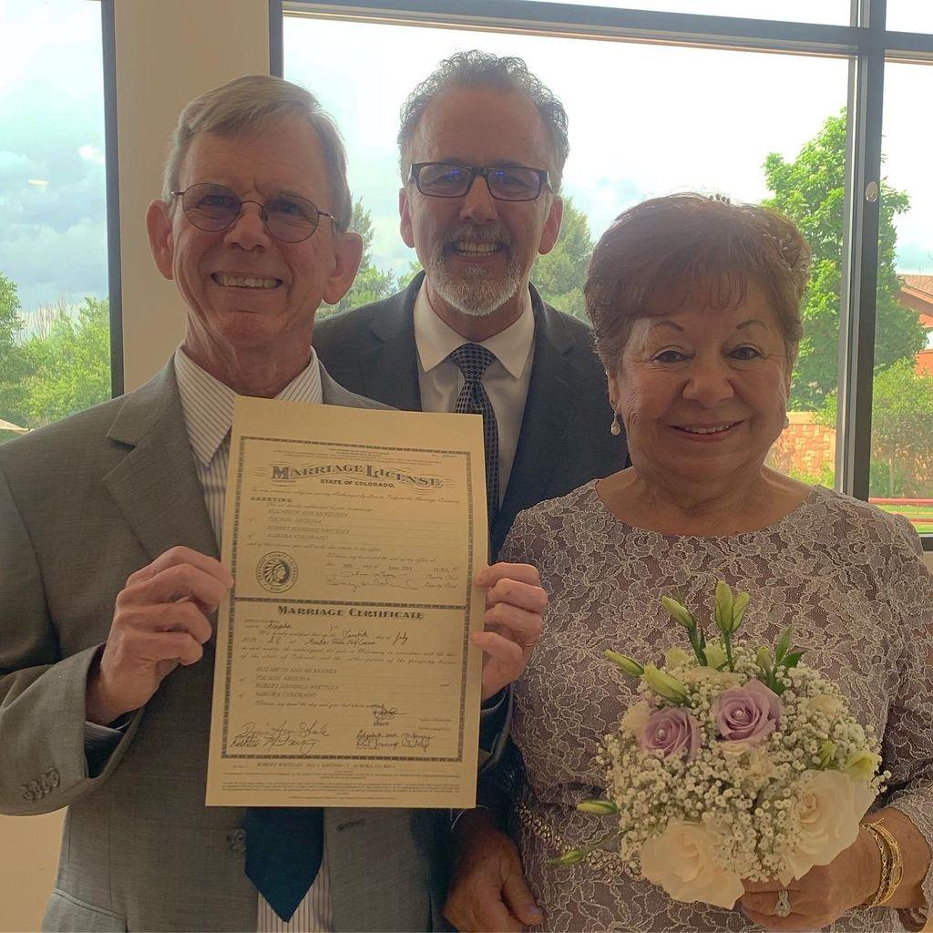 Golden Years Wedding in Aurora