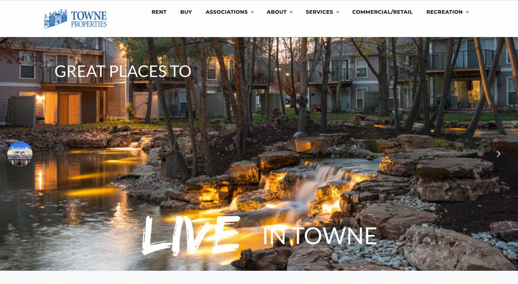 Towne Properties - Corporate Website