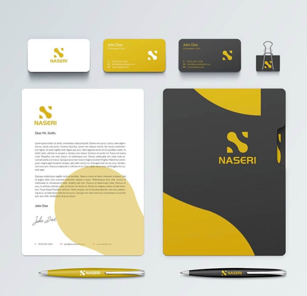 Logo, stationary, letterhead and business card