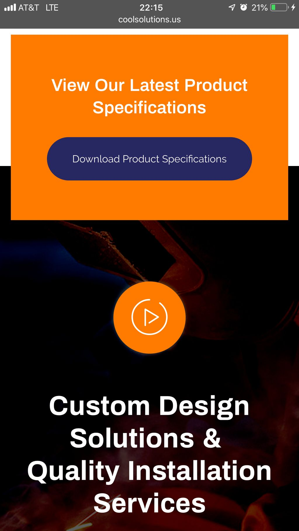 Website Redesign for Cool Solutions