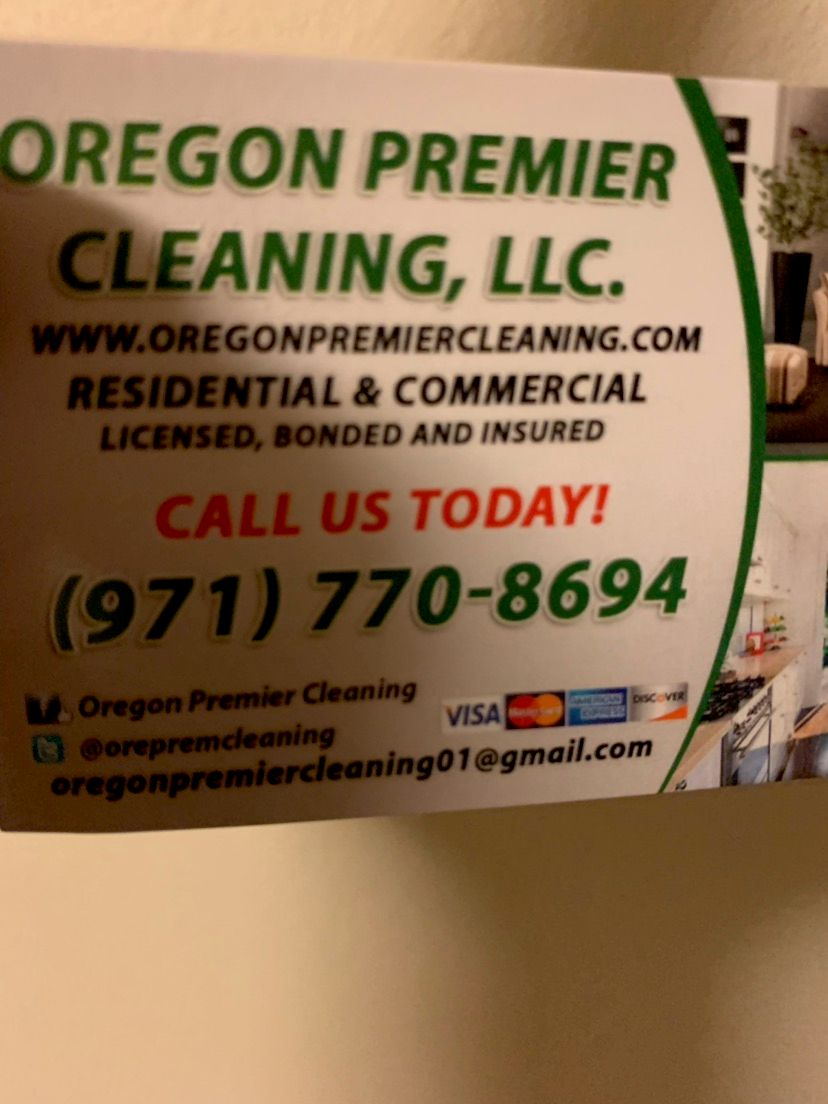 Oregon Premier Cleaning Services LLC