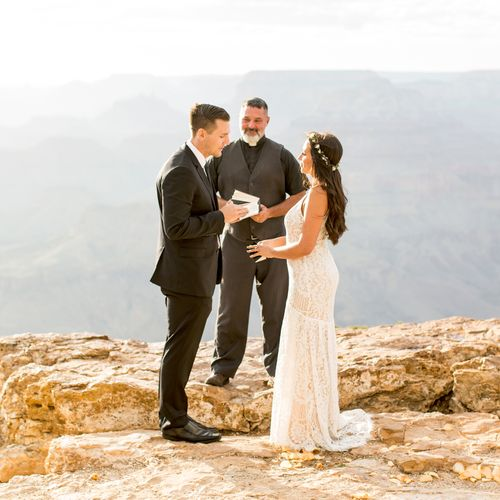 Lipan Point Wedding