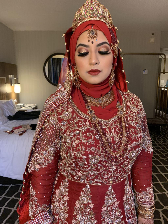 Full Glam Bridal Look