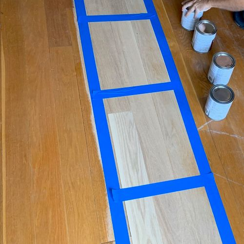 Flooring, YES! We are doing floors as well :)