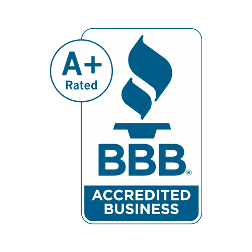 Yes! We are BBB accredited with an A+ rating!