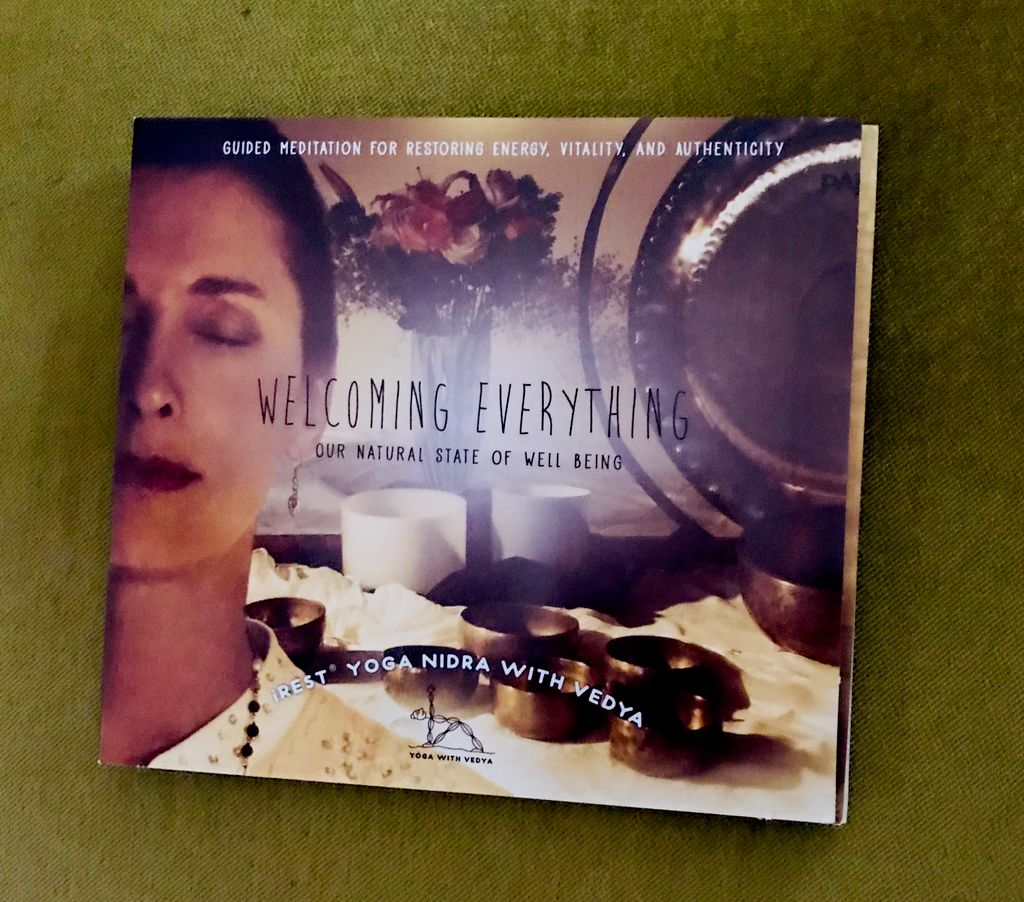 'Welcoming Everything' - yoga CD produced and engineered by gfire