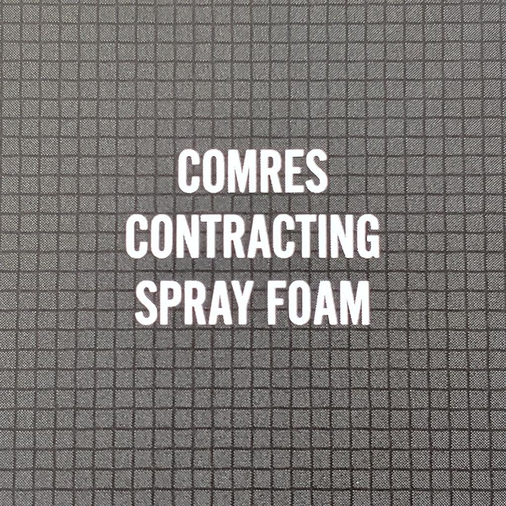 Comres Fiberglass and Spray foam insulation