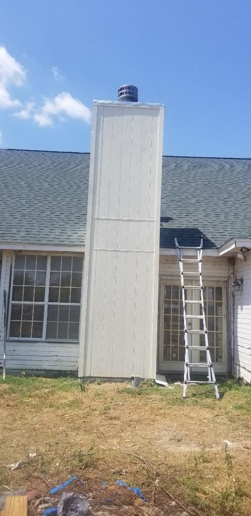 Tear Down And Rebuild Chimney