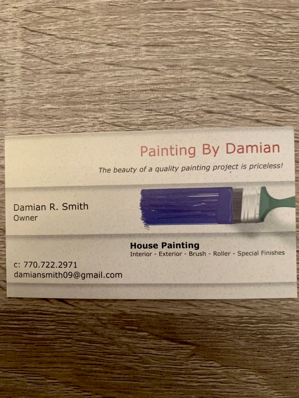Painting By Damian