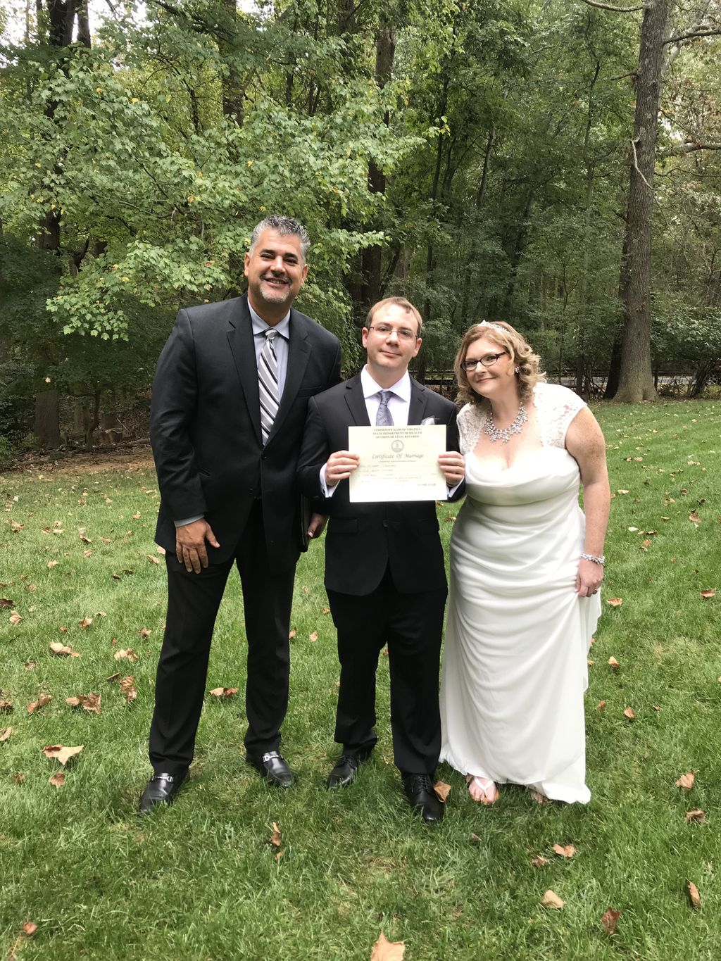 Wedding Officiant - Herndon 2019