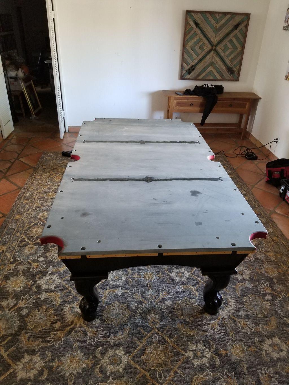 Table move and setup