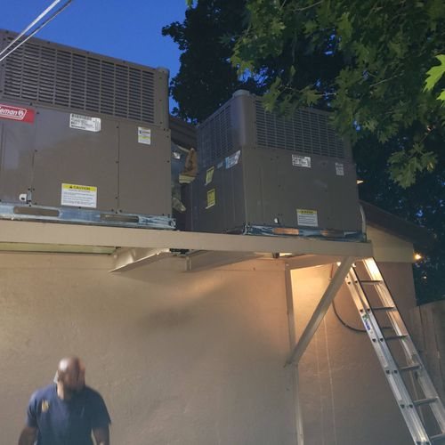 Two 3.5 package unit replacement-retrofit (new)