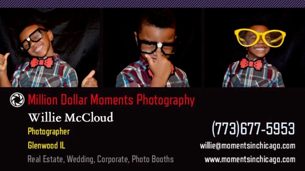 Million Dollar Moments Photo Booth