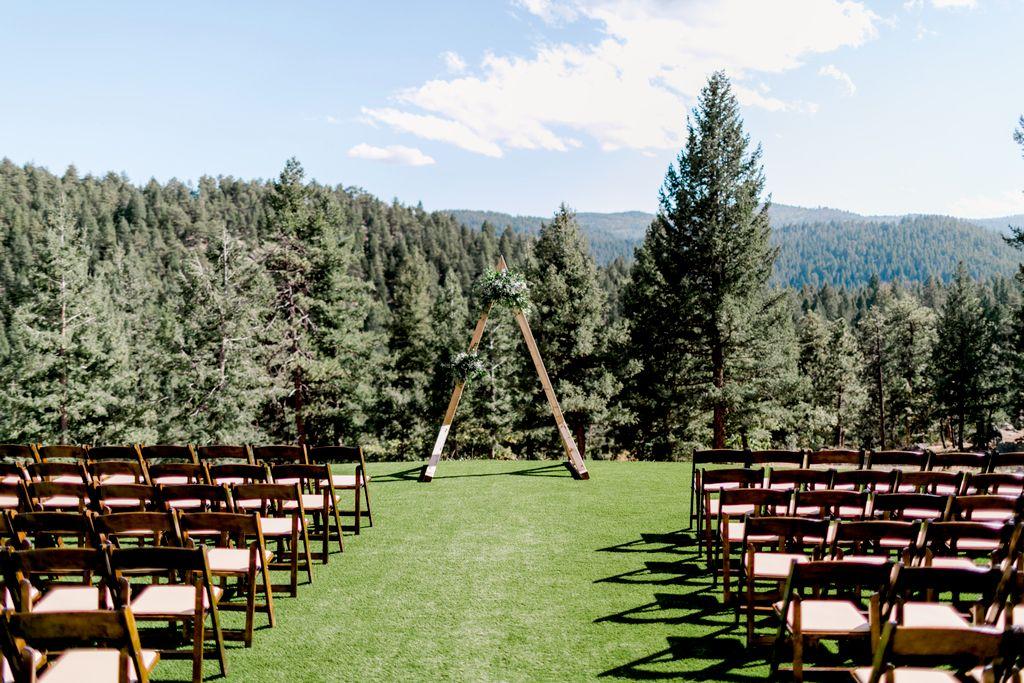 Outdoor Ceremony, Barn Reception