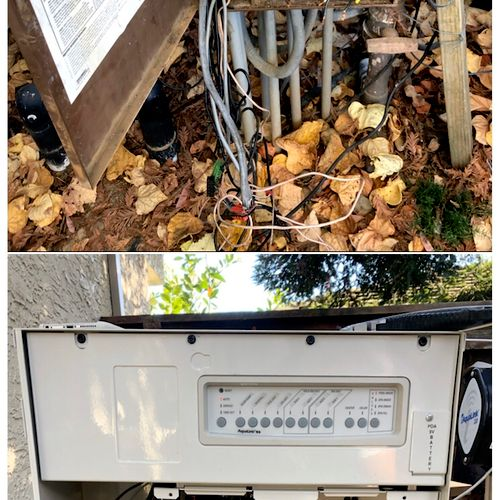 Control panel got electrical fire, here's a picture of before and after Instalation of a new upgraded panel