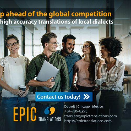 Global brands & global citizens trust EPIC Translations