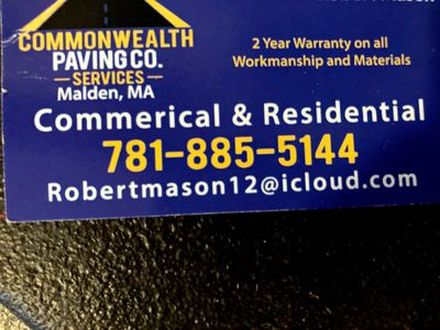 Avatar for Commonwealth Paving Co. Malden, MA Thumbtack