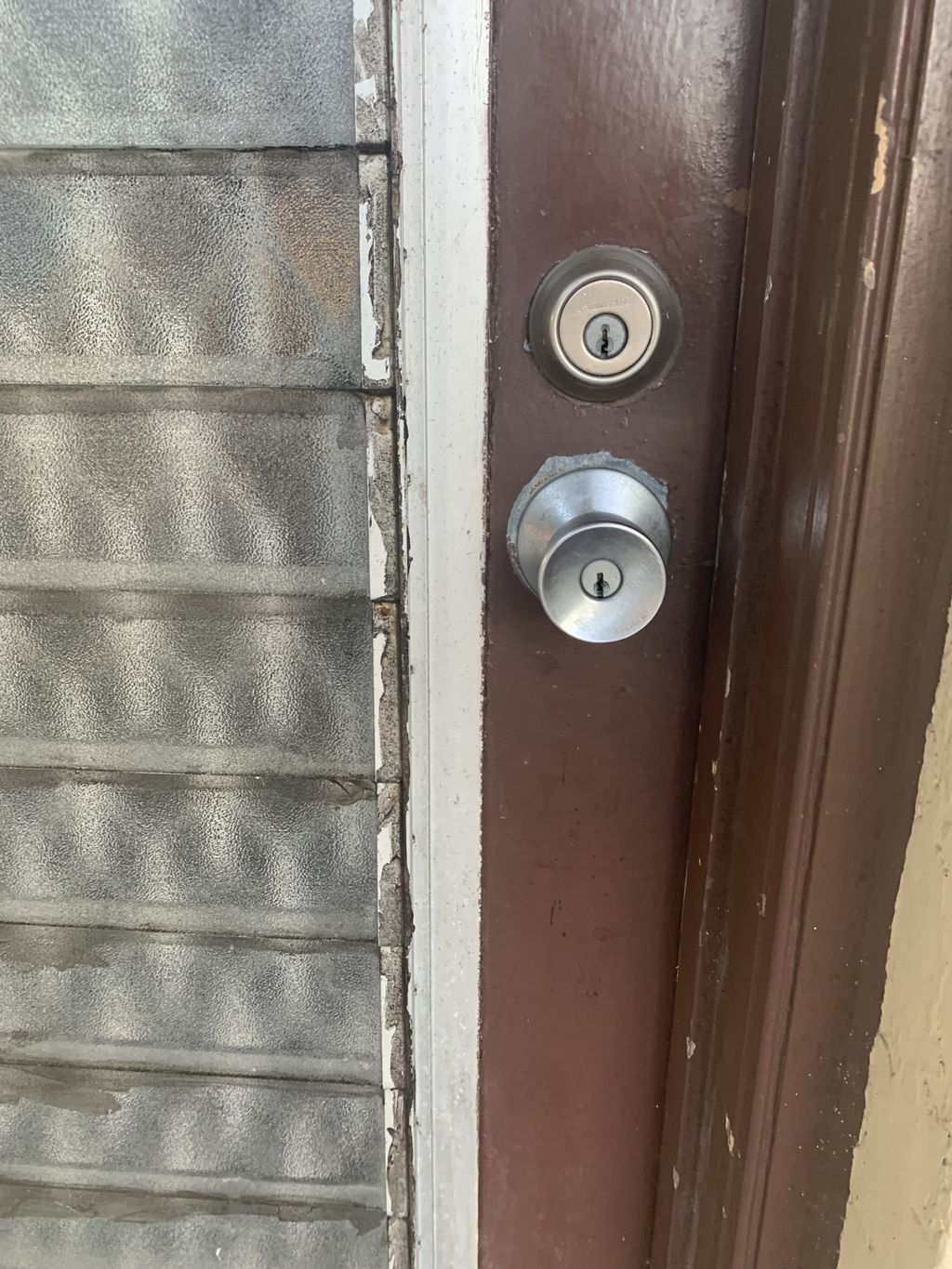 Lockout and replace locks