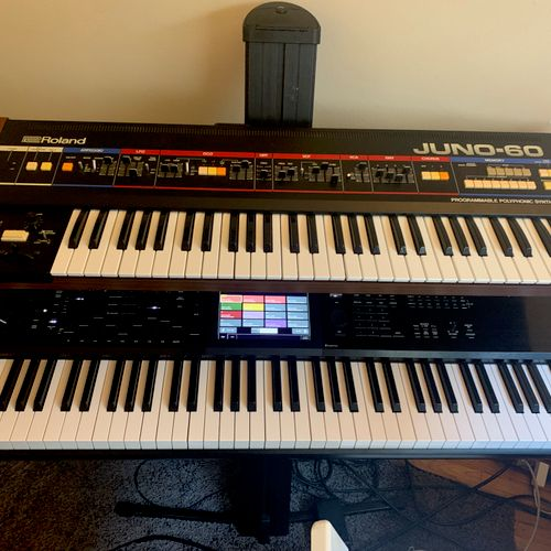 No piano/keyboard yet? No worries, you can always use mine until you're ready to buy one.
