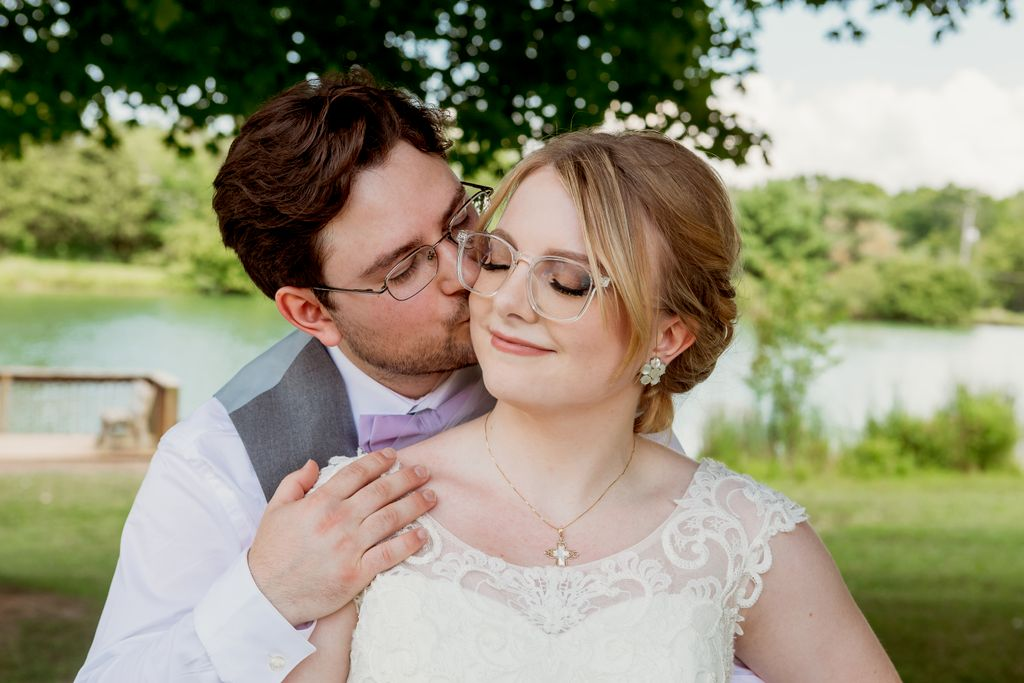 Angelo and Katelyn's outdoor wedding