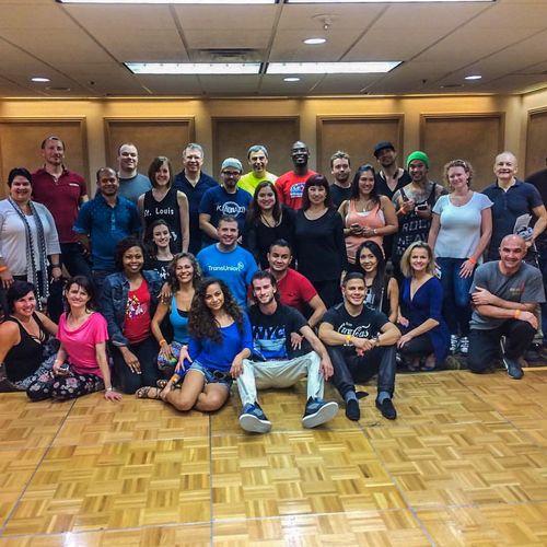 Our dance workshop in Las Vegas