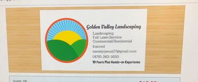Avatar for Golden Valley Landscaping Springdale, AR Thumbtack
