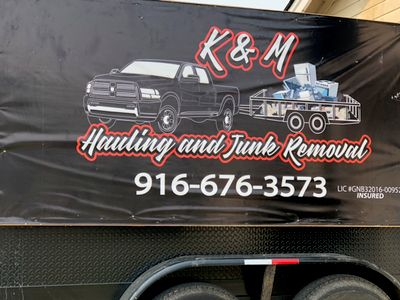 Avatar for K&M hauling and junk removal Antelope, CA Thumbtack