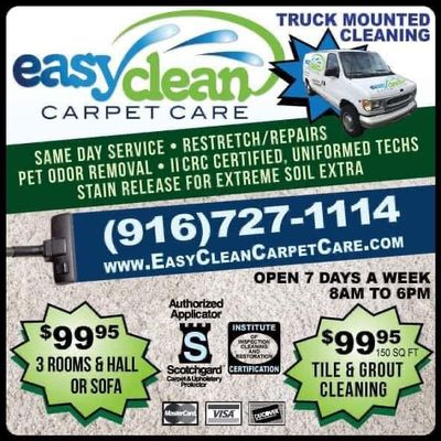 Avatar for Easy Clean Carpet Care