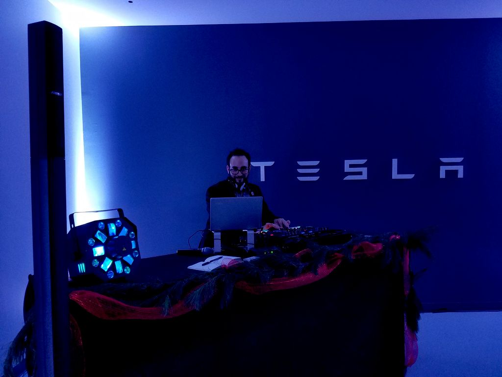 Tesla's Holiday Party
