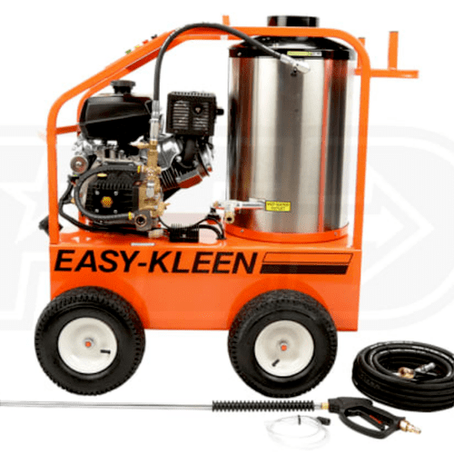 Our high performance hot water pressure washer.