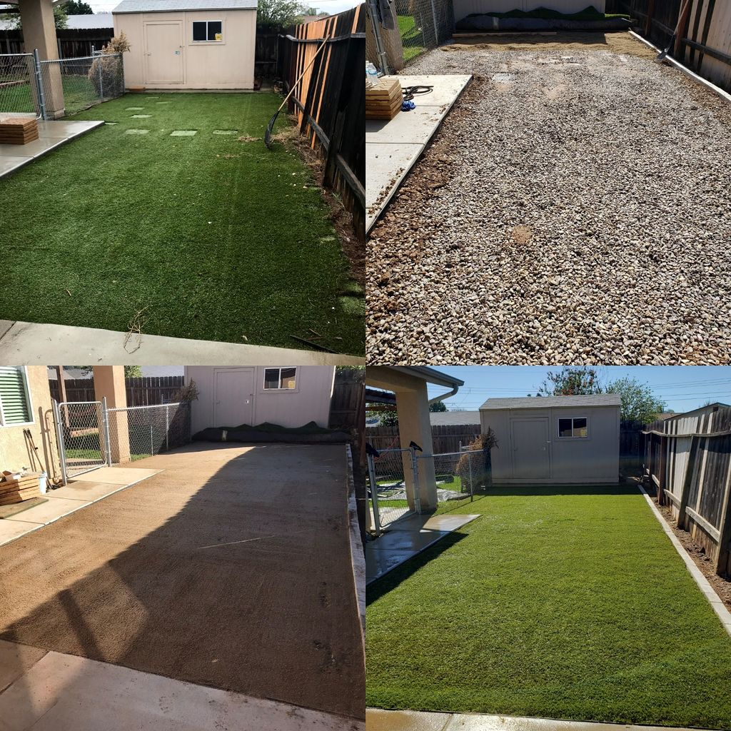 Artificial Turf Replacement