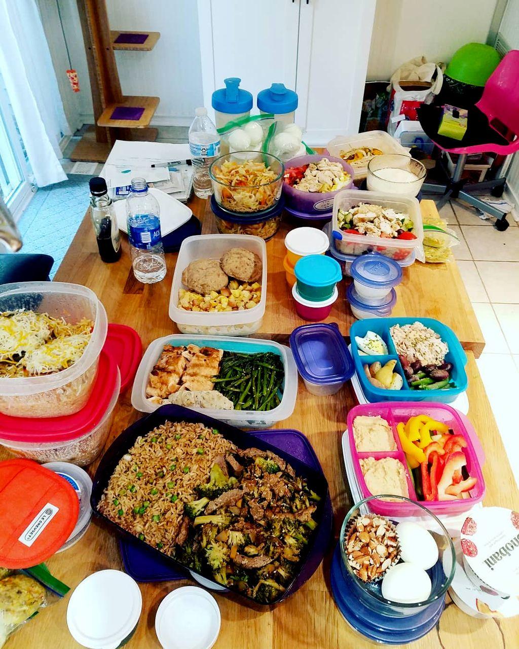 Full Week of Clean Eating Meal Prep