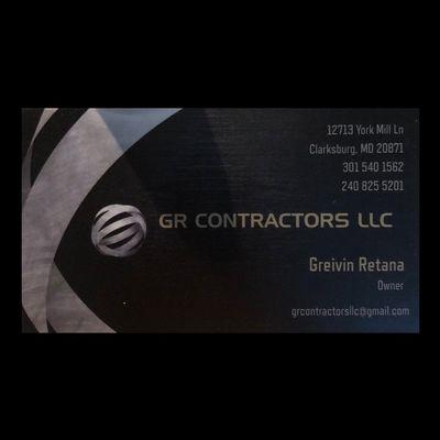 GR CONTRACTORS LLC Clarksburg, MD Thumbtack