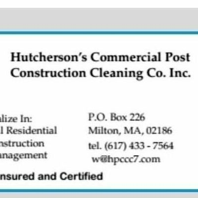 Avatar for Hutcherson Post Construction Cleaning Co. Inc.