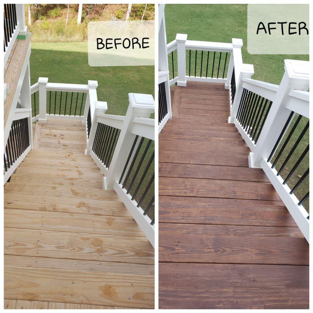 deck oil paint