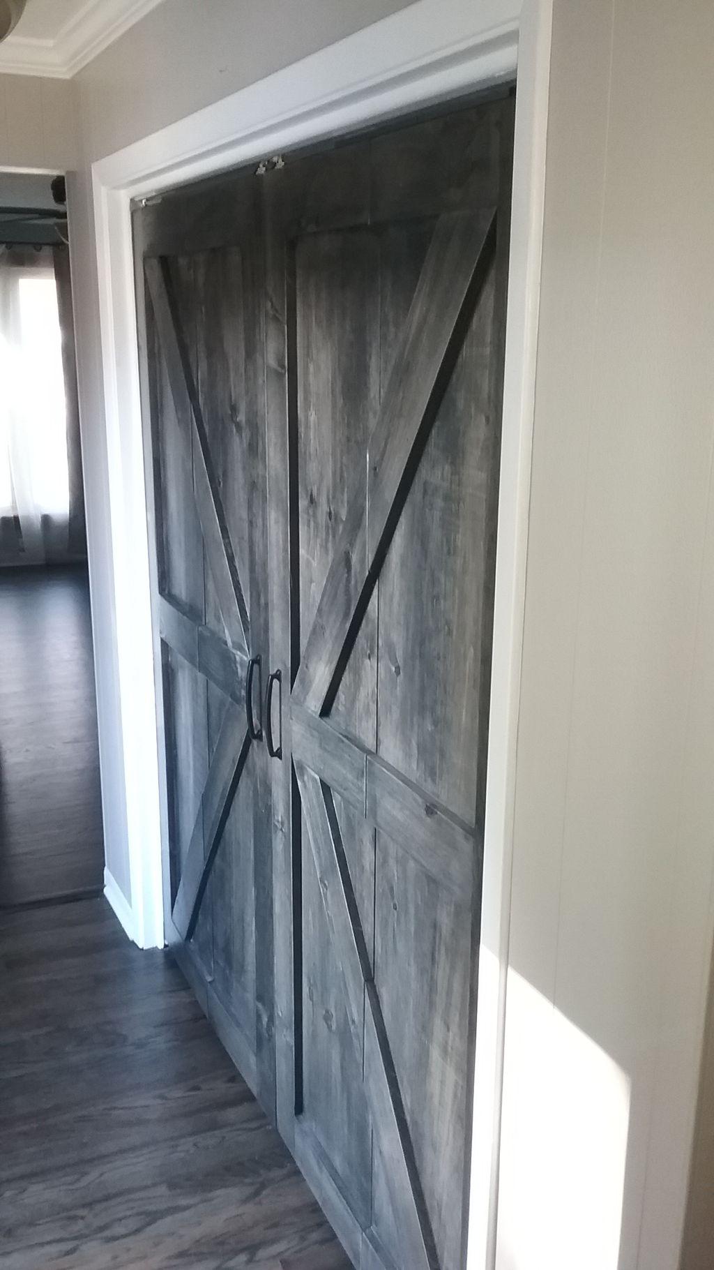 2 bi-fold Door installation