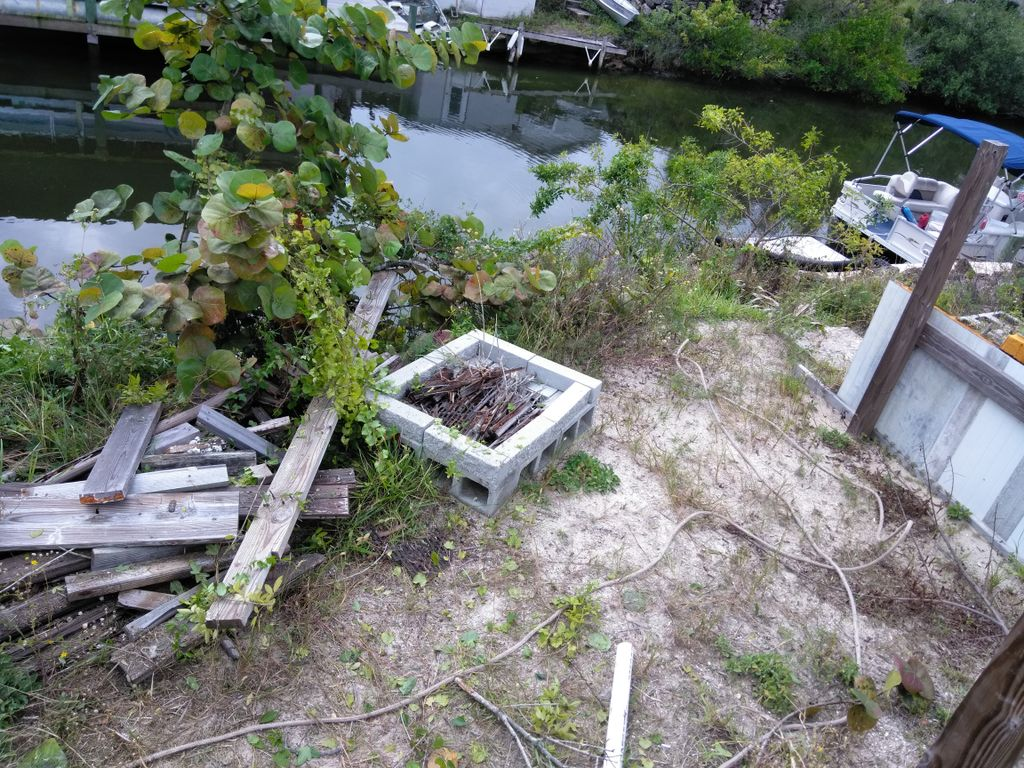 Property and waterfront cleanup