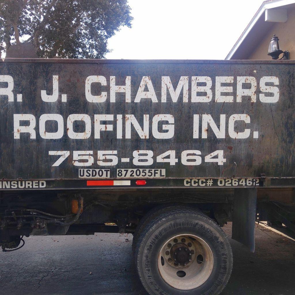 RJ CHAMBERS ROOFING INC