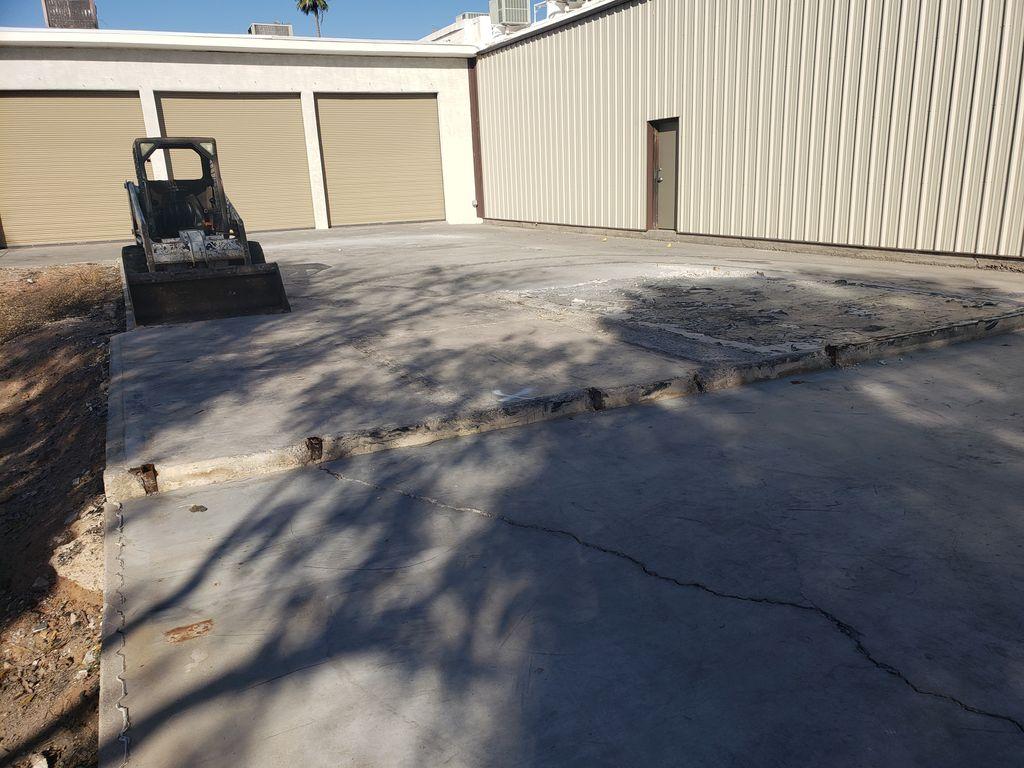 Concrete Pad Demolition