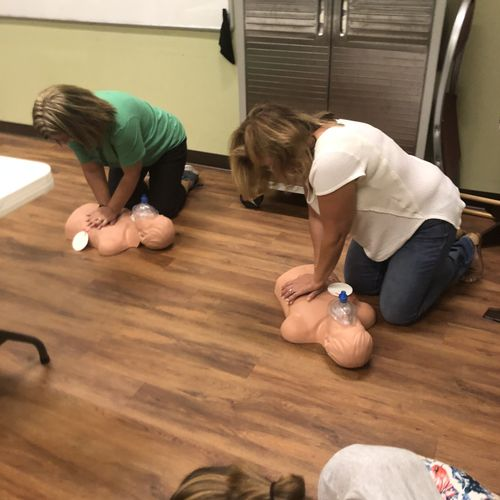 Girl Scout Leaders Skill Practice