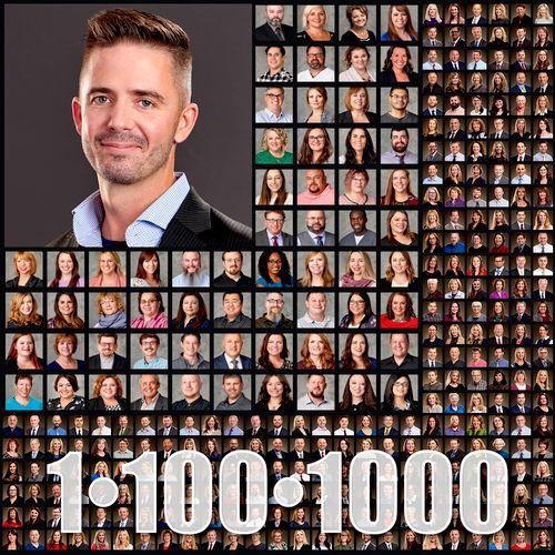 1, 100, or 1,000 business headshots